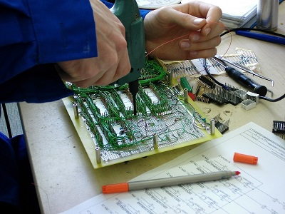 prototipazione schede elettroniche wire wrap